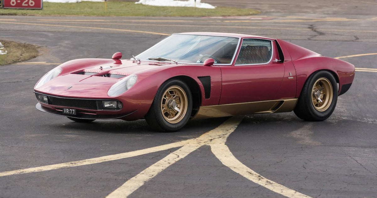 2.5 Million Dollar Car >> Rare Lamborghini Miura SVJ goes to auction | Digital Trends