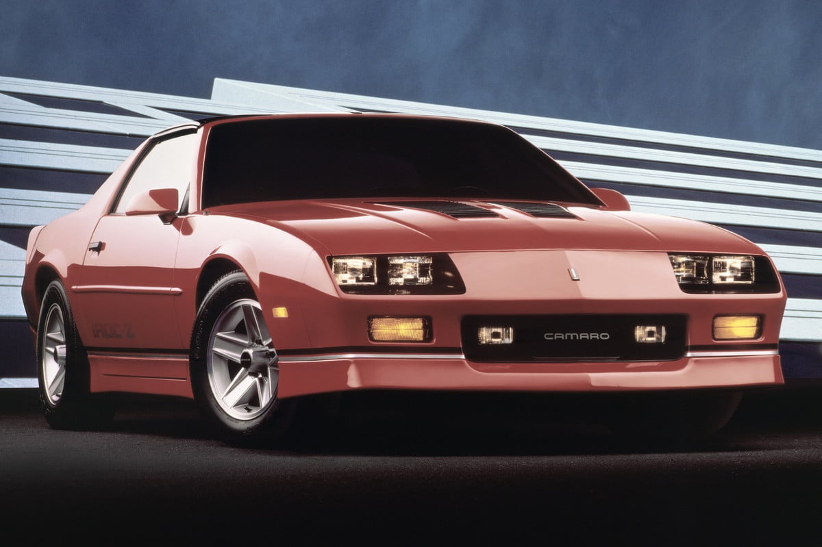 chevrolet camaro iroc z a collectible says bloomberg