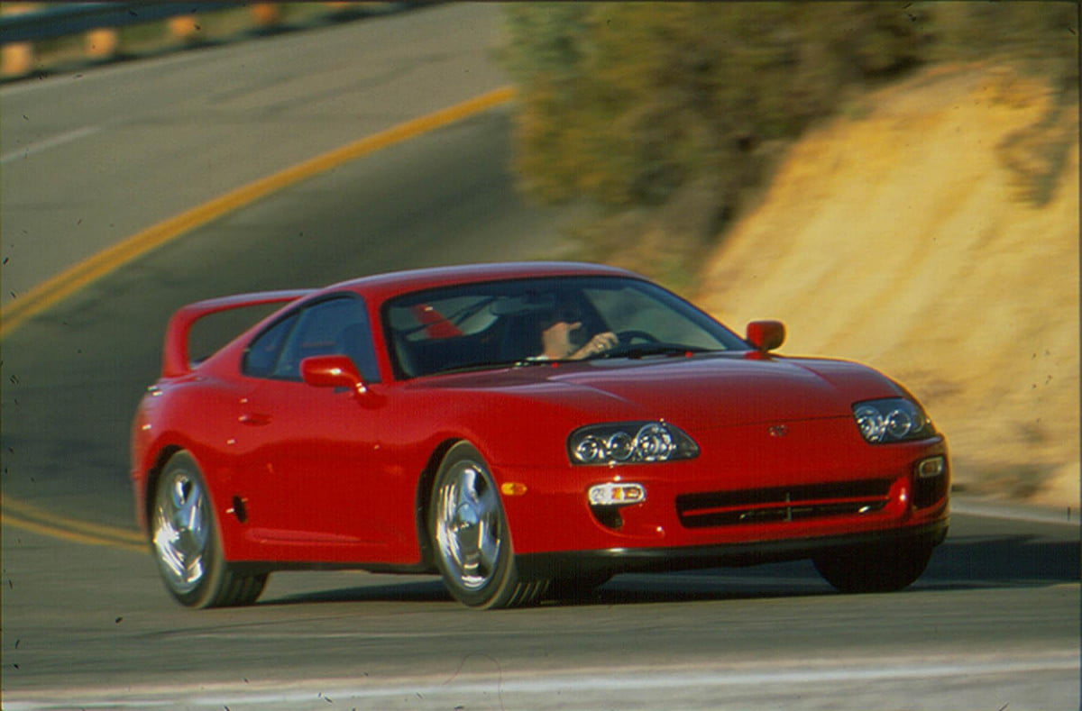 1998 Toyota Supra front three quarter