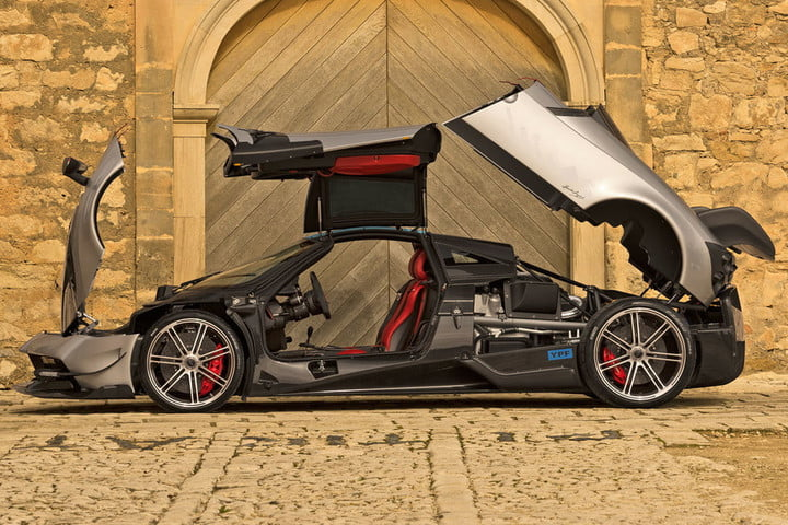 the top ten most expensive cars in world  million pagani huayra bc pac go aperta