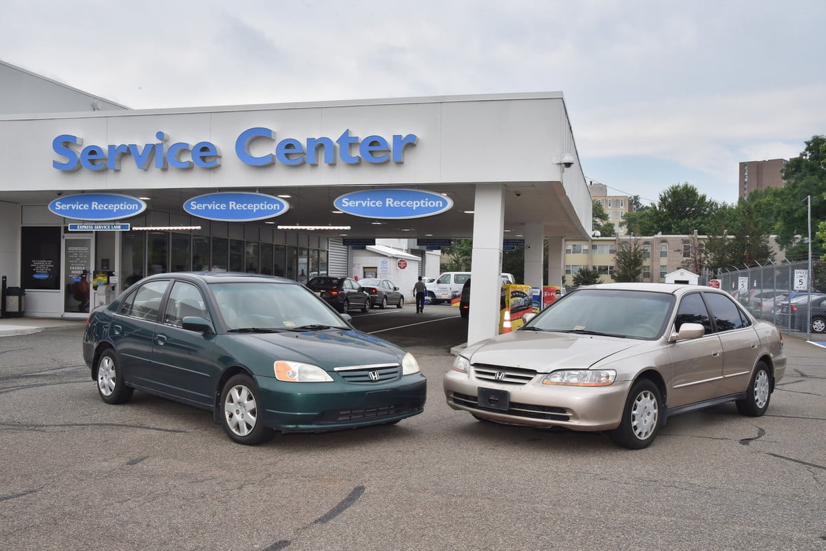 nhtsa urges prompt recall certain honda acura models  civic (left) and accord (right)