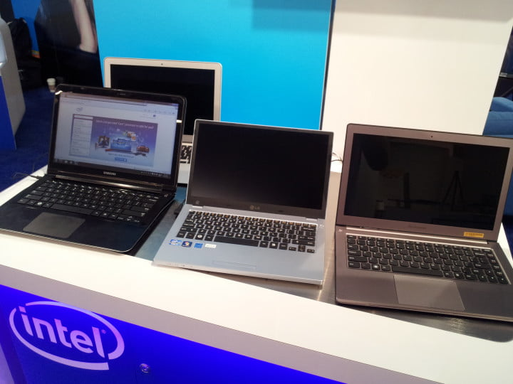 hands on with intels ultrabooks a stopgap toward the next generation of laptop ce week new york  intel