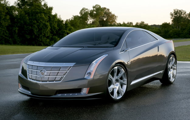 2011 Cadillac ELR Front
