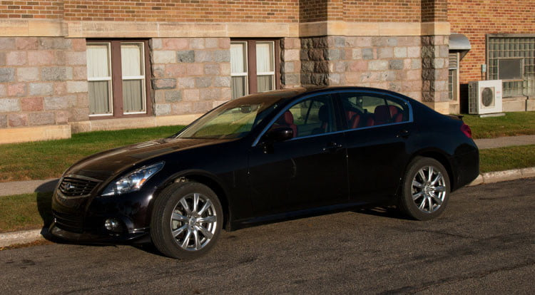2011 infiniti g37 sedan review digital trends. Black Bedroom Furniture Sets. Home Design Ideas