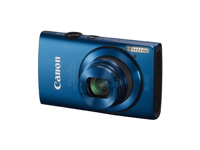 canon unveils three new powershot point and shoot cameras  lores elph hs blue q