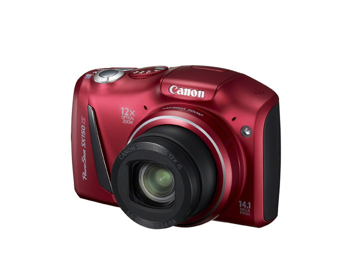 canon unveils three new powershot point and shoot cameras  lores sx is red q