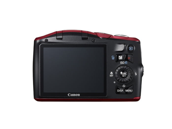 canon unveils three new powershot point and shoot cameras  lores sx is red back