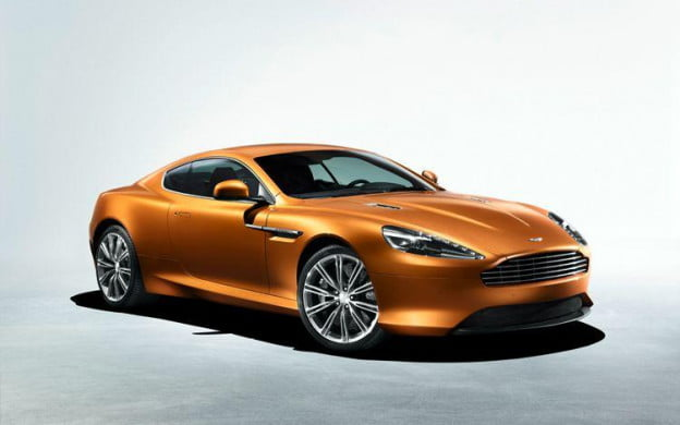 2012 Aston martin Virage front three-quarter view