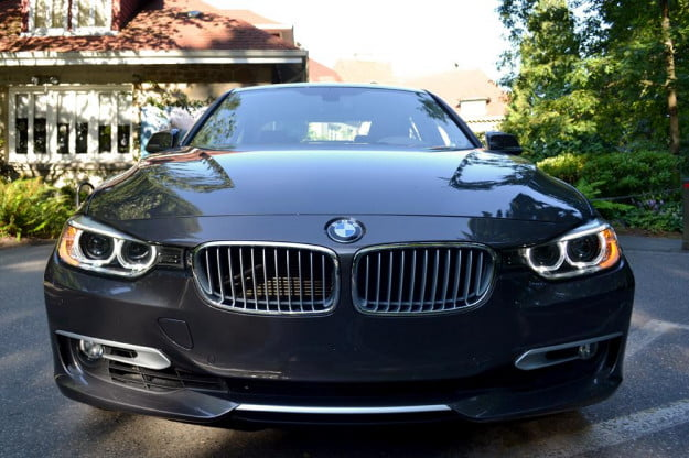 2012 BMW 335i review exterior front car review