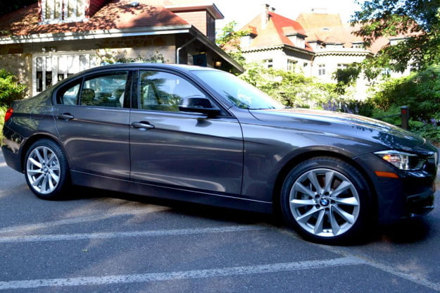 2012 BMW 335i review exterior right side sedan review