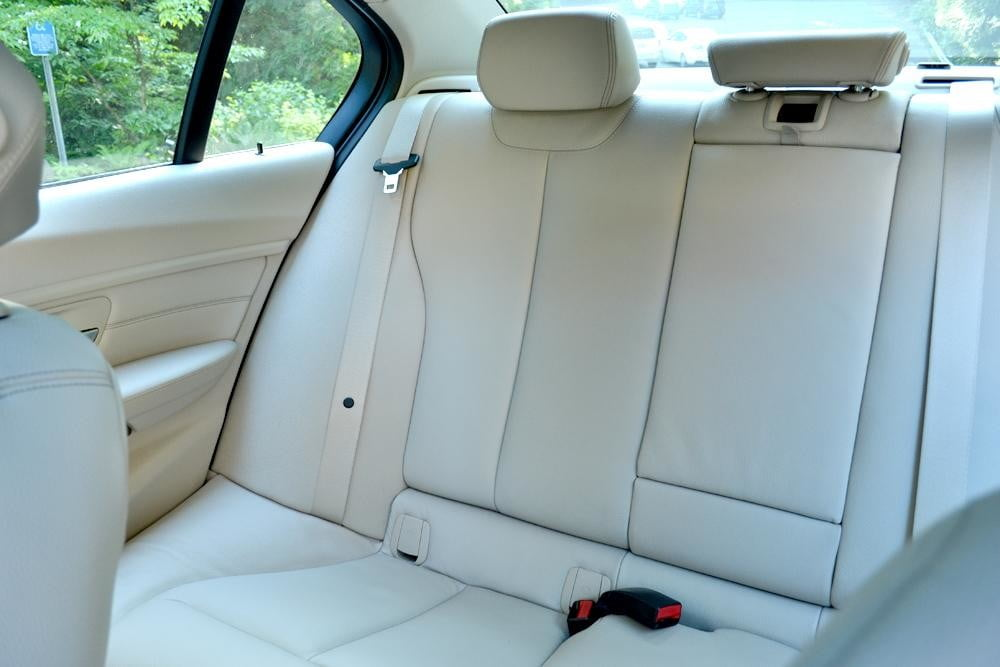 2012 BMW 335i review interior back right seat car review