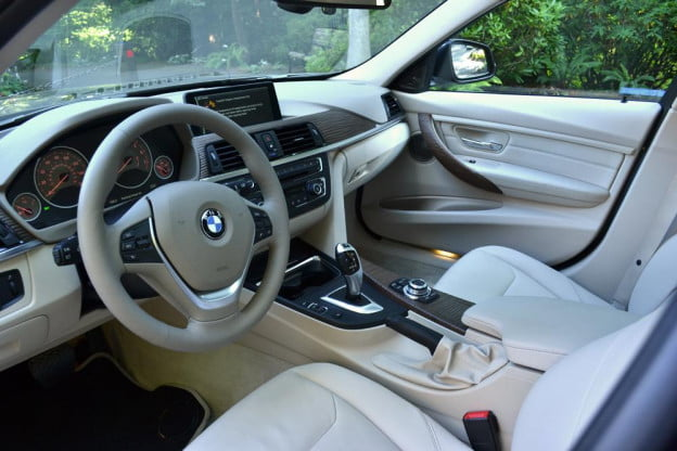2012 BMW 335i review interior drivers seat right angle car review