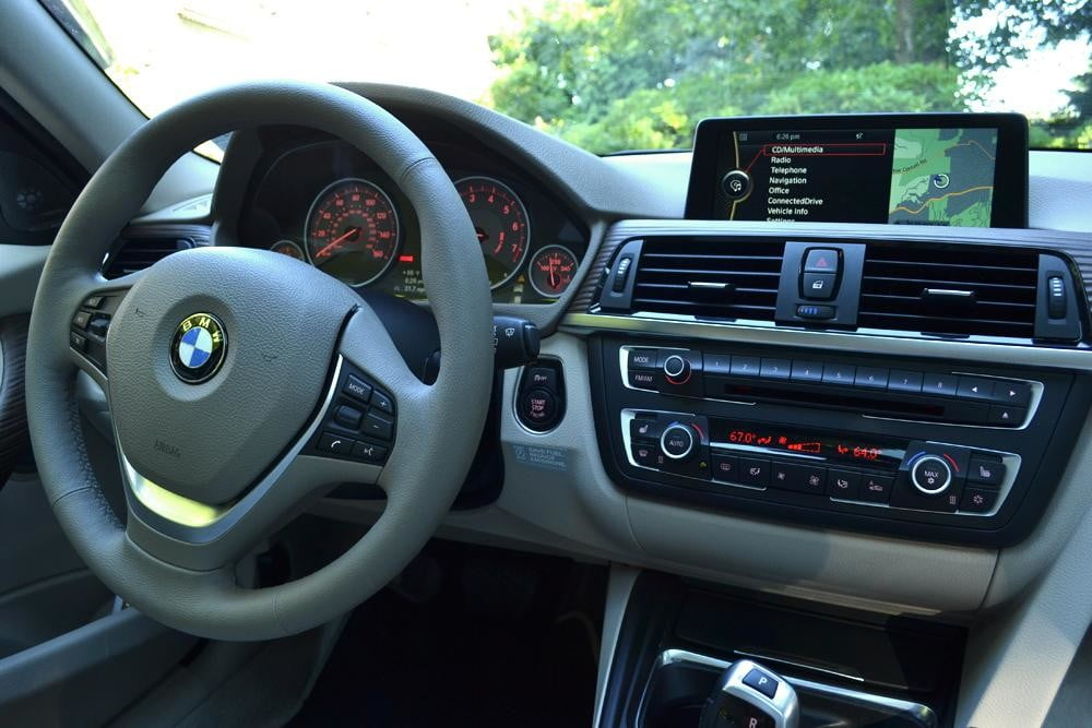 2012 BMW 335i review interior front drivers seat car review