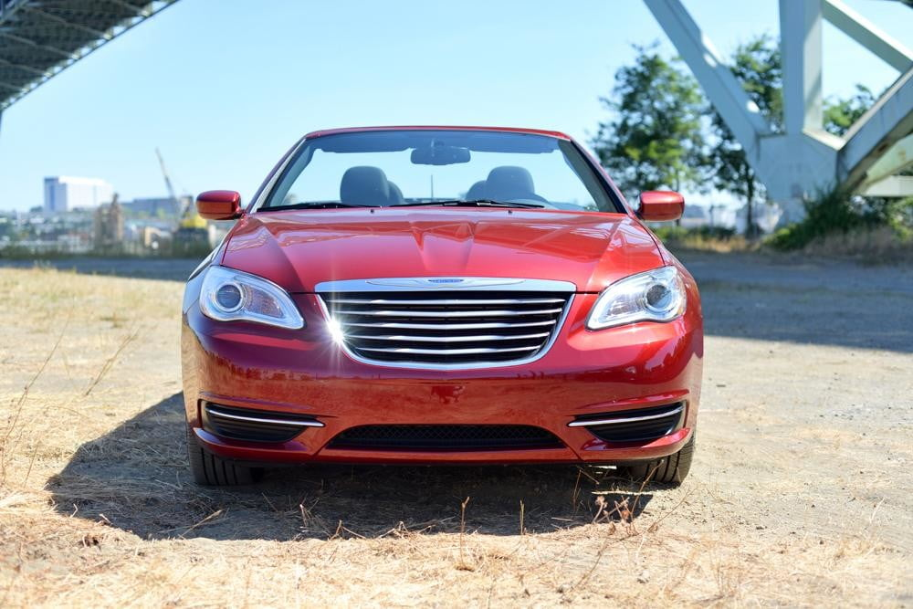 2012 Chrysler 200 Convertible review exterior front touring