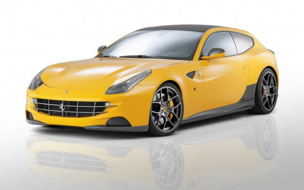 Novitec Rosso Ferrari FF front three-quarter view