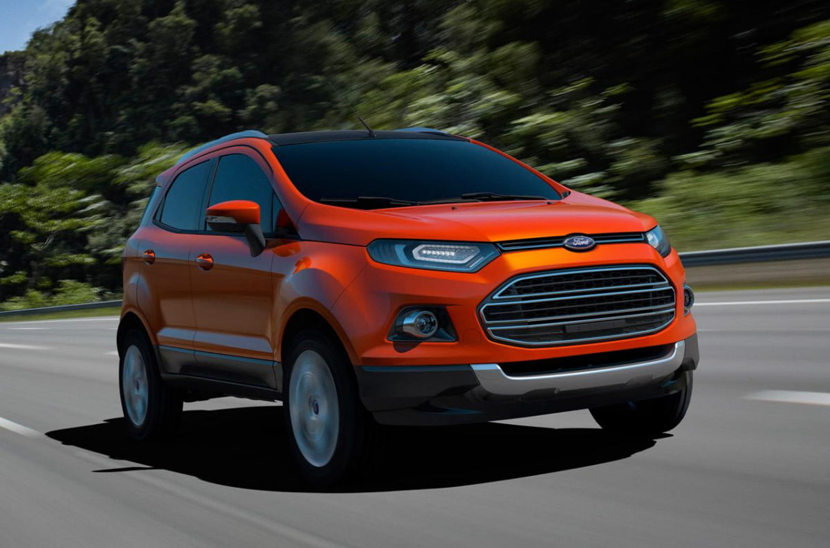 ford might bringing smallest crossover ecosport united states  debut