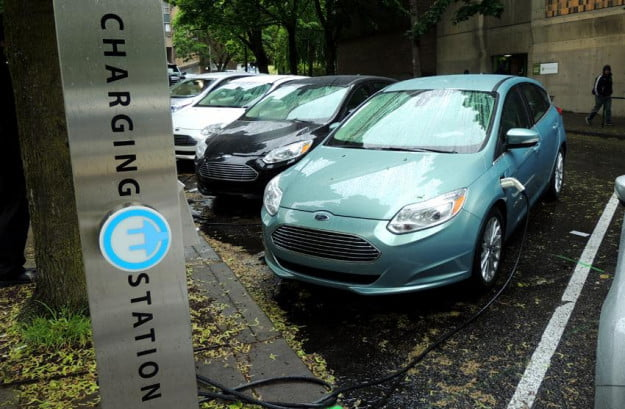 2012 Ford Focus Electric drive impressions: Charging Station