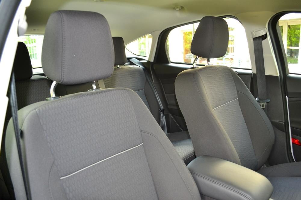2012 Ford Focus SEL Review interior seats