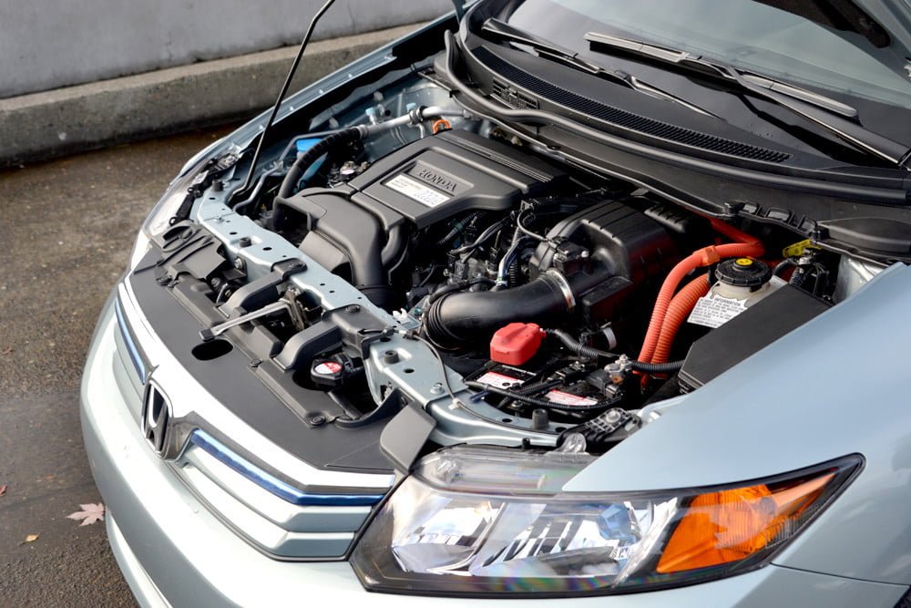 2012 Honda Civic Hybrid review engine car review