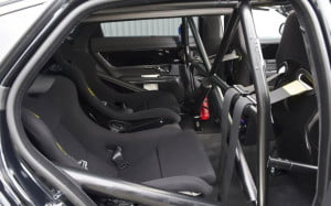 Jaguar XJ Nurburgring taxi rear seats
