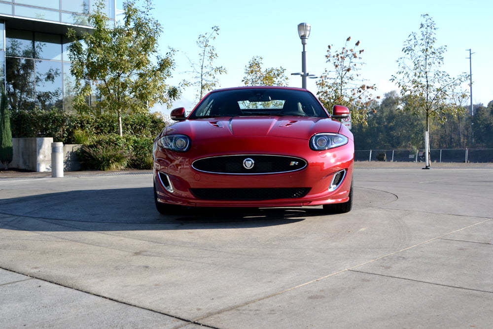2012 Jaguar XKR review front top up exterior