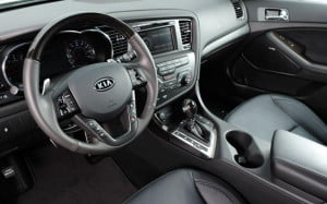 Kia Optima SX Limited interior