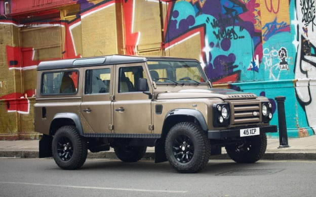 Land Rover Defender XTech Special Edition 110 Utility Wagon bronze
