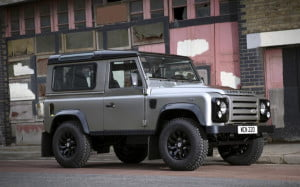 Land Rover Defender XTech Special Edition 90 Hard Top grey