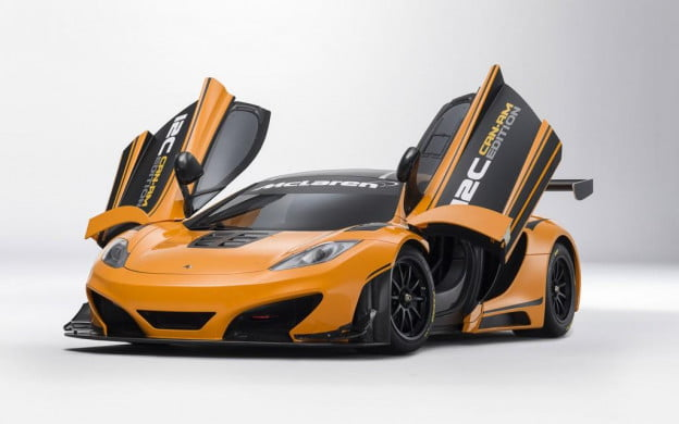 McLaren MP4-12C Can-Am Edition front three quarter view