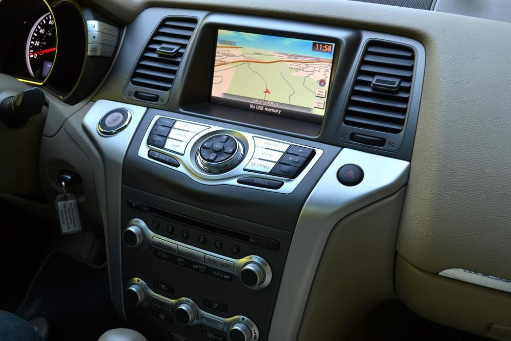 2012 Nissan Murano Crossover Review interior dashboard car review