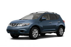 nissan murano sl awd review press image