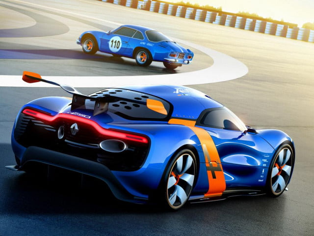 caterham renault might meant  alpine a concept