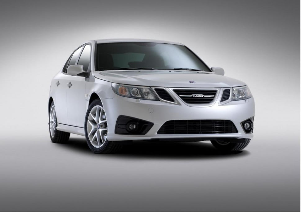 2012 Saab 9-3 sedan front three quarter