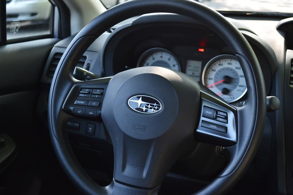 2012 subaru impreza steering wheel 4 door car review