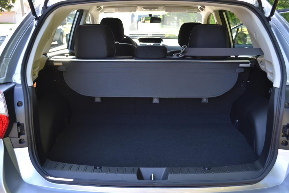 2012 subaru impreza trunk 4 door car review