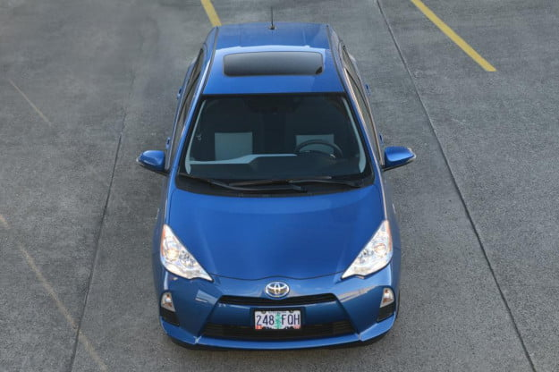2012 Toyota Prius C Review top hybrid car