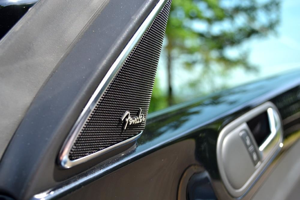 2012 Volkswagen Beetle review fender speaker