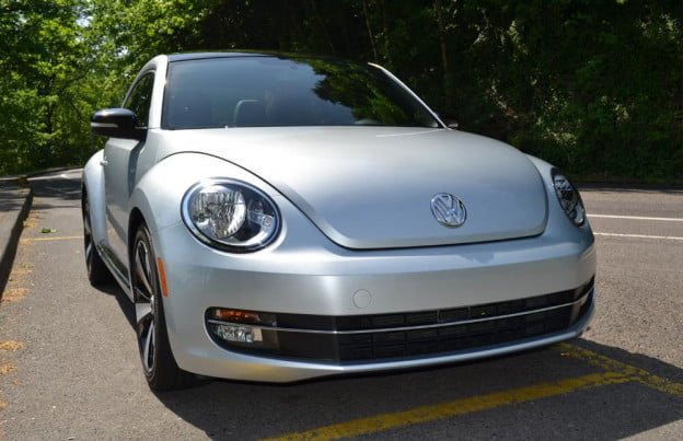 2012 Volkswagen Beetle review front angle