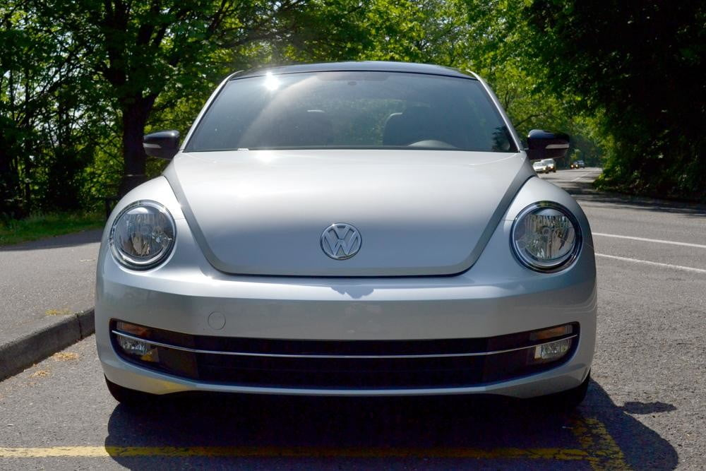 2012 Volkswagen Beetle review front