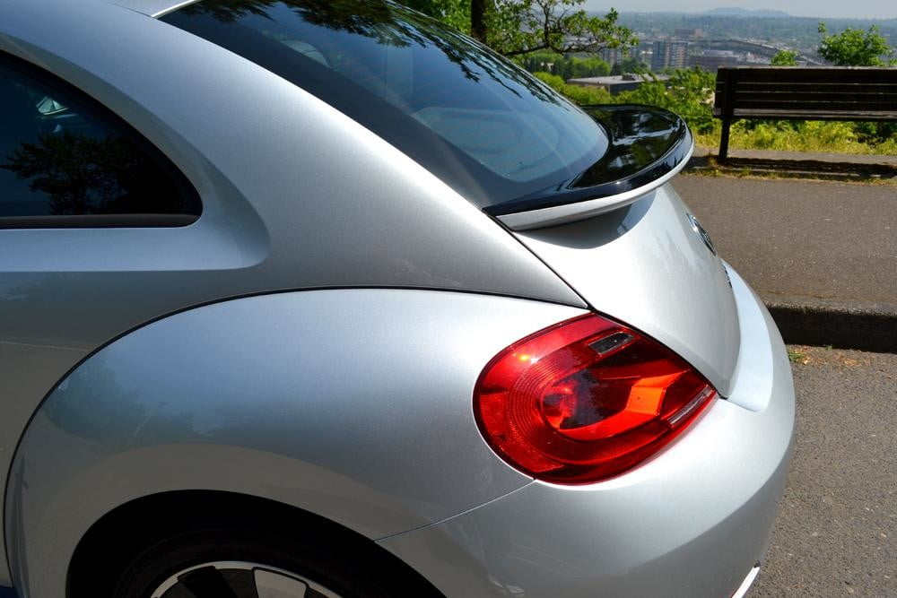 2012 Volkswagen Beetle review rear detail