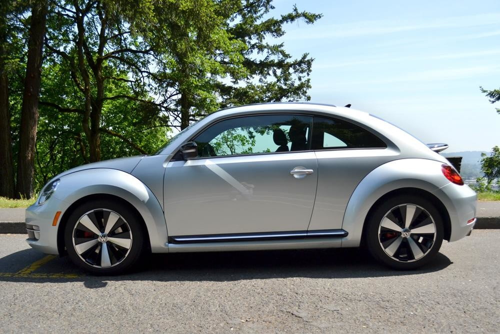2012 Volkswagen Beetle review side