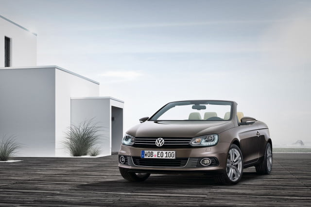 vw separately know fuel efficiency numbers off year ago  volkswagen eos