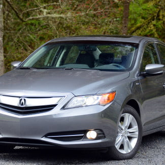 2013 acura ilx hybrid exterior front right