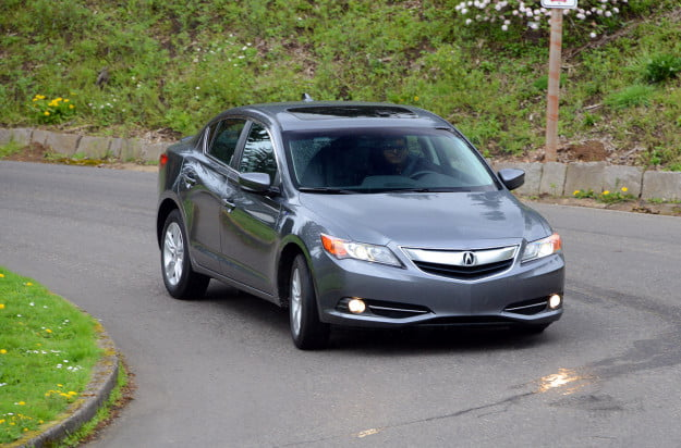 2013 acura ilx hybrid exterior front right motion