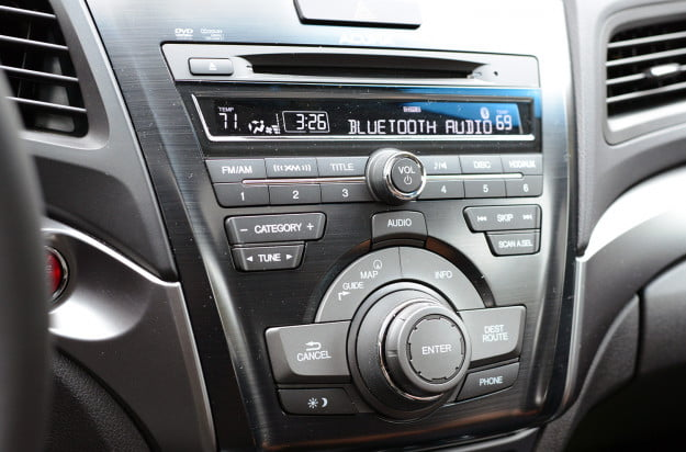 2013 acura ilx hybrid tech bluetooth audio
