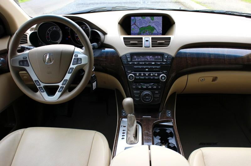 Acura Mdx Advance Interior Front X X
