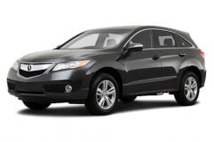 acura mdx review rdx press image