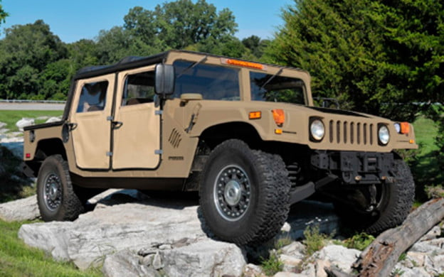 AM General Humvee C-Series kit front three quarter view