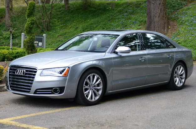 2013 audi a8 exterior front right