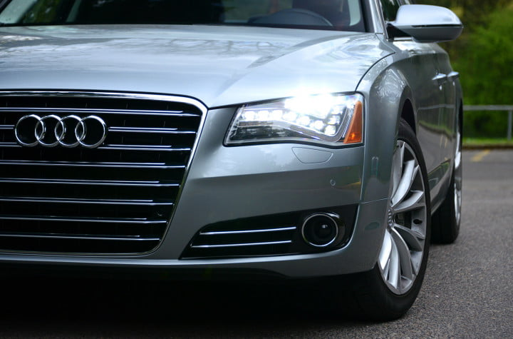 audi a review exterior grill